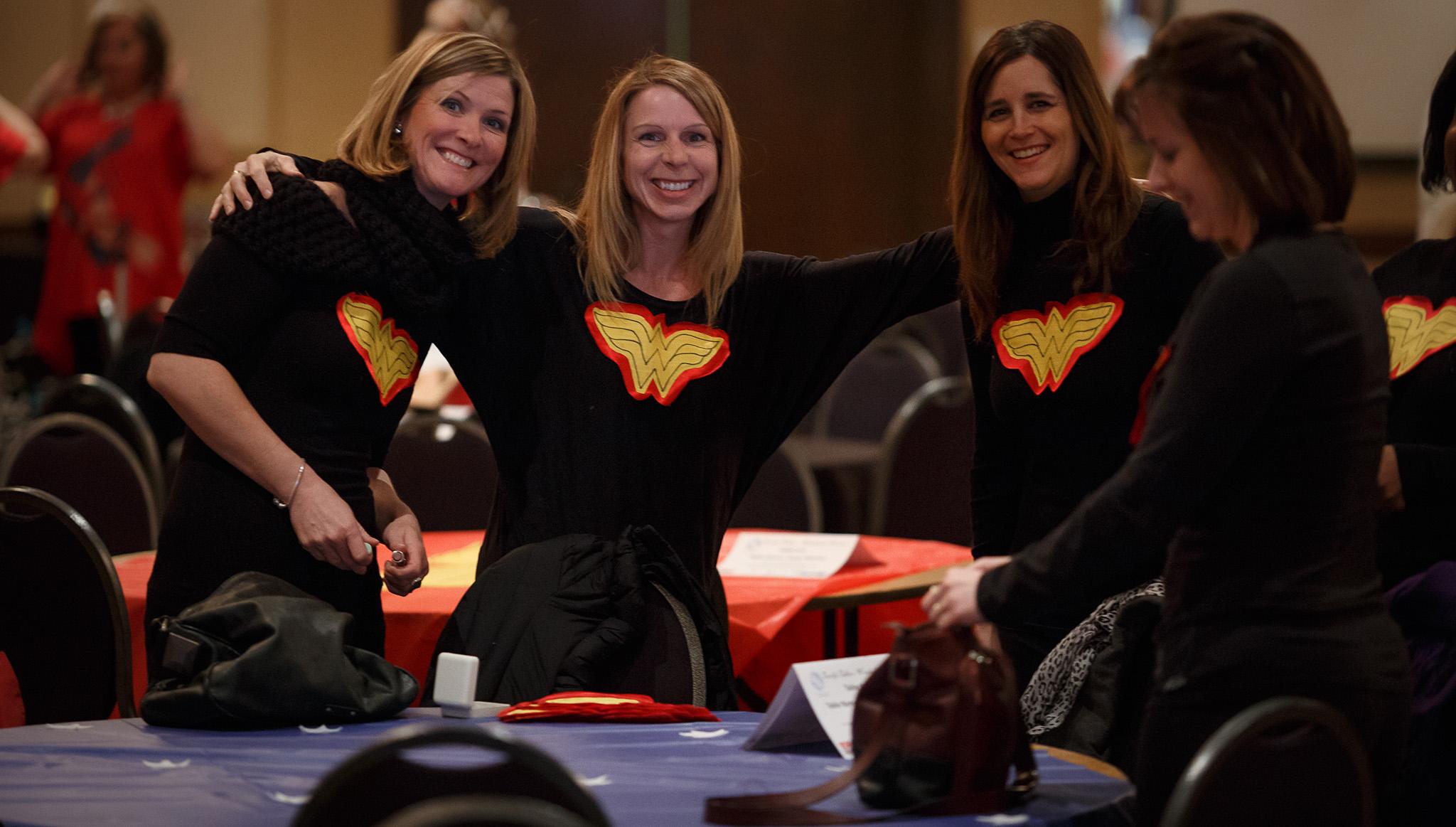 Terrific Tables, Wonderful Women