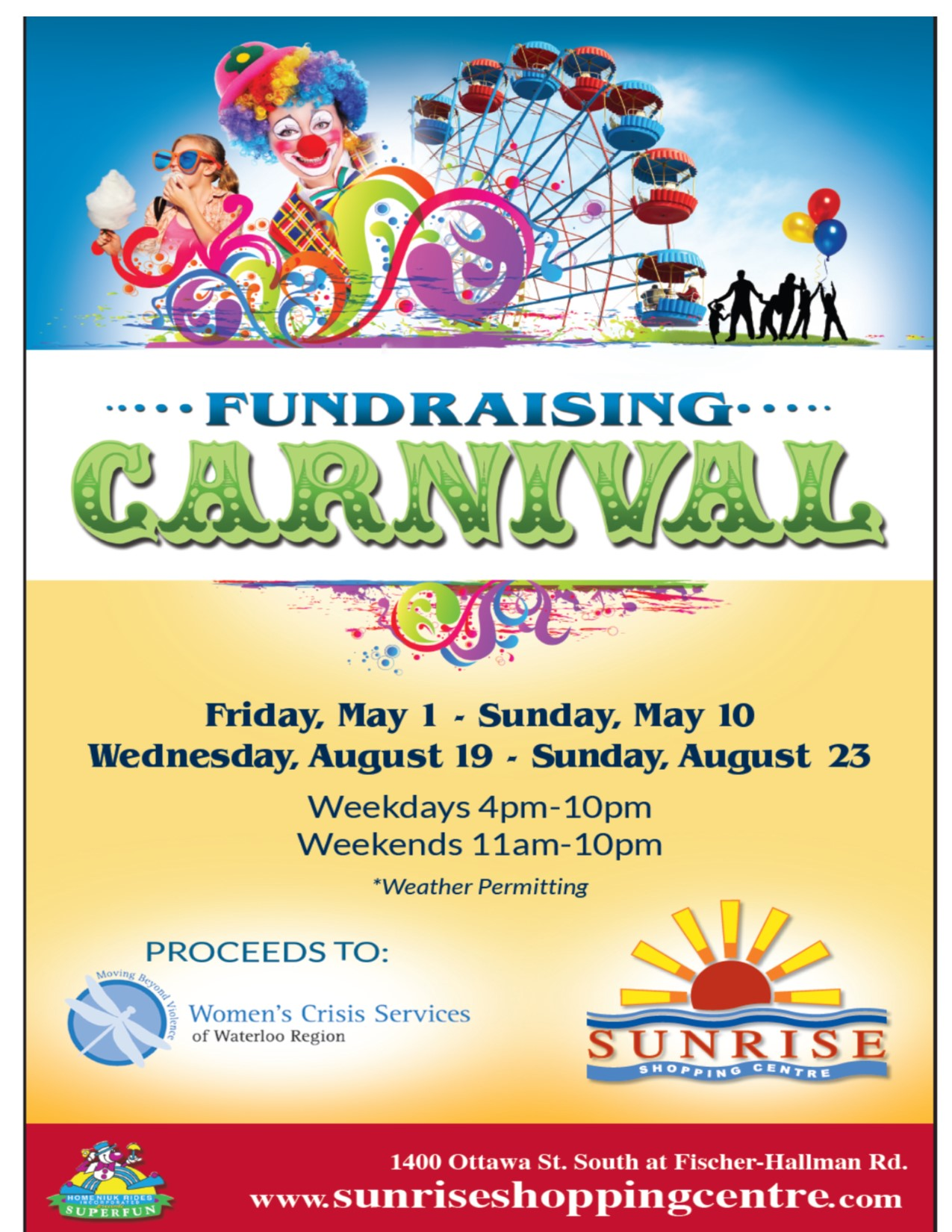 Join us at the Sunrise Carnival