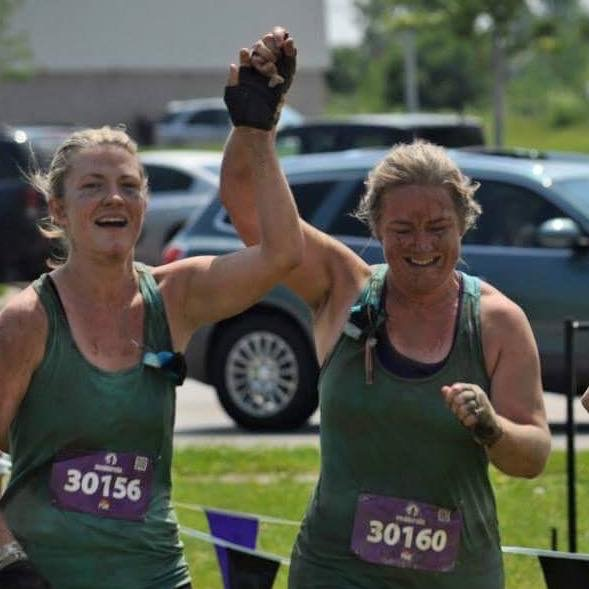 Mudderella Team Conquers the Course and supports WCSWR