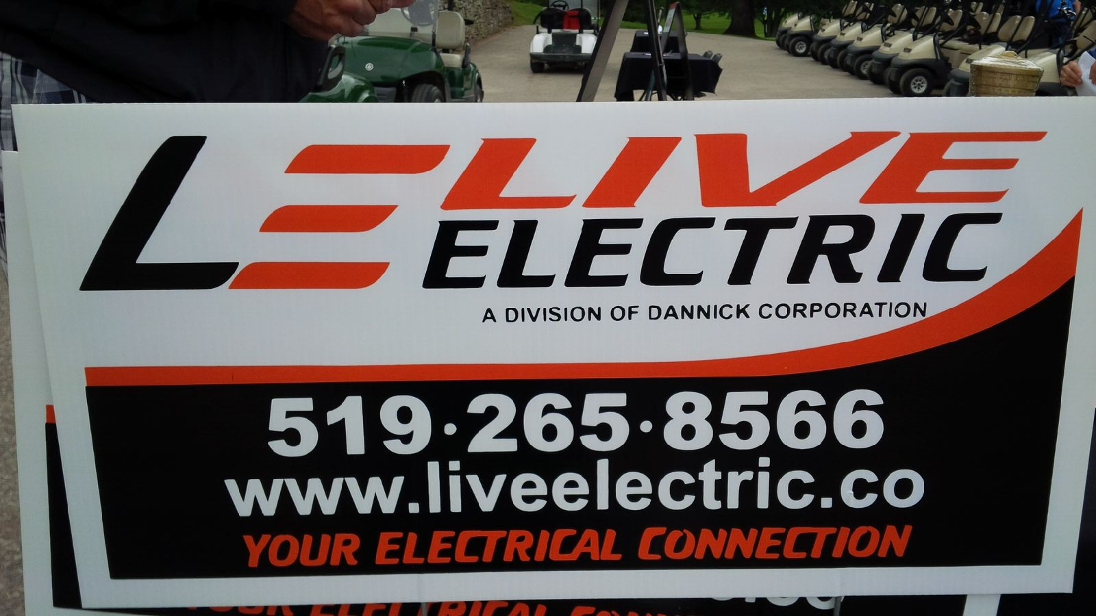 LIVE ELECTRIC on course to support WCSWR