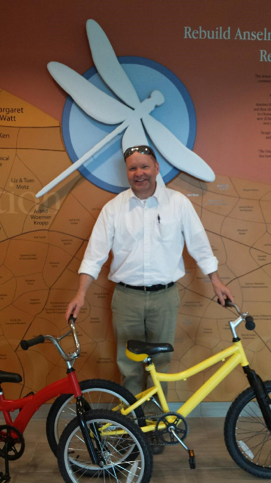 K Pitt Bicycle Donation Women S Crisis Services Of